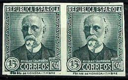 España Nº 665s Sin Goma. Cat.25€ - 1931-50 Unused Stamps