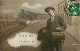 VAL D'OISE  ARGENTEUIL Bonjour De …. - Argenteuil