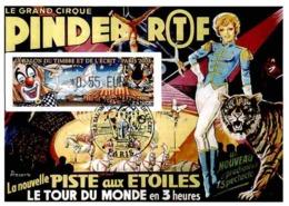 Carte Maximum 2008 - Cirque Pinder, La Nouvelle Piste Aux étoiles. Vignette LISA - Maximum Cards