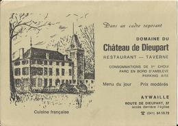 Aywaille - Domaine Du Château De Dieupart - Restaurant - Taverne - Aywaille