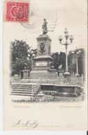 MEXIQUE - GUADALAJARA . CPA Voyagée En 1907 Monumento Corona - Messico