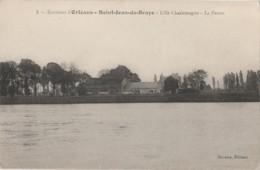 I20-45) ENVIRONS D'ORLEANS - SAINT JEAN DE BRAYE - L'ILE CHARLEMAGNE - LA FERME - (2 SCANS) - Autres Communes