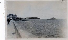 Photo Ancienne -  DOUARNENEZ -  Mole Vers TREBOUL - Lieux