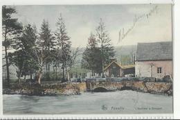 Aywaille - L'Amblève à Dieupart - 1913 (couleur) - Aywaille