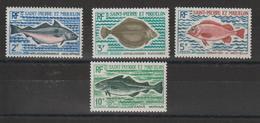 Saint Pierre Et Miquelon 1972 Poissons 421-424 4 Val ** MNH - St.Pierre & Miquelon