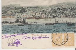 TURQUIE IZMIR - SMYRNE. CPA Voyagée En 1904 Vue De Smyrne - Turquie