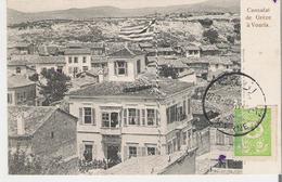 TURQUIE - URLA - VOURLA .  CPA Voyagée En 1904 Consulat De Grèce à Vourla - Turquie