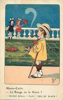 -themes Div.-ref-DD339 - Illustrateurs - Illustrateur Mich - Enfants - Monte Carlo - Monaco - - Mich