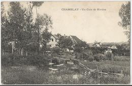 CPA - 39 -Jura - Chamblay - Un Coin De La Rivière - Altri Comuni