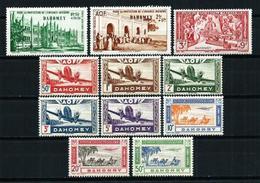 Dahomey (Francés) Nº A-6/8-10/7**/* Cat.11,65€ - Unused Stamps
