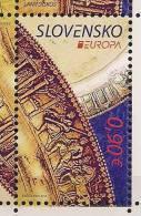 2012 Slowakei Slovensko Mi.681 **MNH Europa: Besuche. - Europa-CEPT