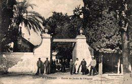 10659         ST MANDRIER    ENTREE  DU JARDIN DE L HOPITAL - Saint-Mandrier-sur-Mer