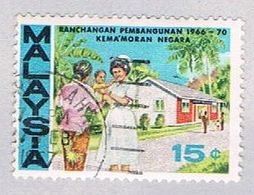 Malaysia 38 Used Nurse (BP23612) - Malaysia (1964-...)
