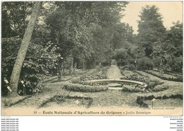 78 GRIGNON. Ecole Nationale Agriculture. Jardin Botanique - Grignon