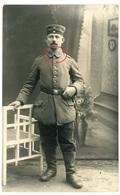 Landsturm Landwehr - Portrait -  Carte Photo Allemande 1914-1918 WWI - Weltkrieg 1914-18