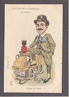 Nantes / Ses Enfants Terribles / Caricature Personnalité / Automobile / De Dion Bouton (avec Son Chauffeur !) - Nantes