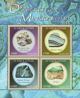 Uzbekistan 2019. Minerals Of Uzbekistan.  MNH - Minerals