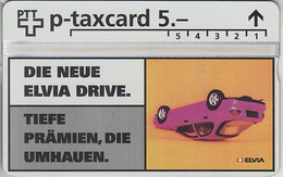 SUISSE - PHONE CARD - TAXCARD-PRIVÉE  ***  ASSURANCES 6 *** - Schweiz