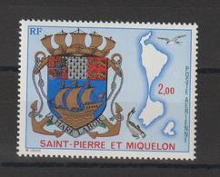 Saint Pierre Et Miquelon 1974 Armoiries PA 58 ** MNH - Ongebruikt