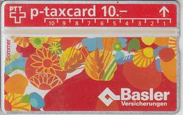 SUISSE - PHONE CARD - TAXCARD-PRIVÉE  ***  ASSURANCES 7 *** - Schweiz
