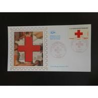 CEF Soie - Croix Rouge 2011, Oblit 4/11/2011 Paris - FDC
