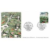 FDC LNF - Les Jardins De Villandry, Oblit 16/9/11 - FDC