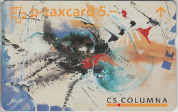 SUISSE - PHONE CARD - TAXCARD-PRIVÉE  FF  ***  BANQUES 4 *** - Schweiz