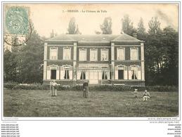 62 HERSIN. Le Château De Toile 1906 - Francia
