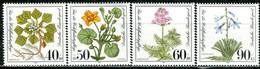 BRD - Mi 1108 / 1111 ✶✶ # - Moor- Sumpf- Und Wasserpflanzen - Wohlfahrt 81 - Unused Stamps