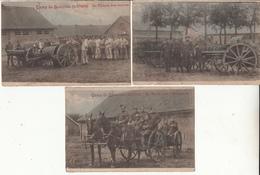 Camp De Beverloo  3 Cartes - Esercito Belga