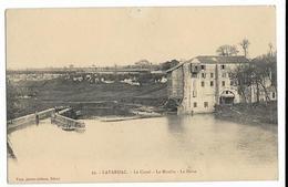 LAVARDAC Le Canal. Le Moulin. La Baise. Ed. Tuja (1 Trou De Punaise Haut Milieu) - Lavardac