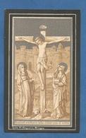 IMAGE PIEUSE HOLY CARD SANTINO IMMAGINETTE SACRE SAINT AUGUSTIN BRUGES BRUGGES  MARIE CALVAIRE MADELEINE MAGDALENA - Images Religieuses