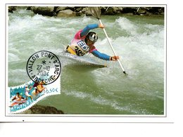 Sport : Canoé-Kayac :  Carte Maximum De France - Kano
