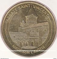 MONNAIE DE ¨PARIS 85 NIEUL SUR AUTSE Abbaye Saint Vincent - Nieul Sur L'Autise - 2015 - Monnaie De Paris
