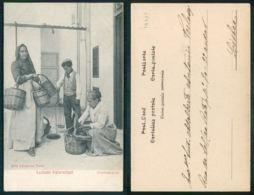 OF [ 19409 ] - ITALIA - COSTUMI PALERMITANI FRUTTIVENDOLA - Italië
