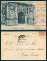 OF [ 19479 ] - ESPAÑA -  ORENSE PORTADA DEL CONVENTO DEL MONASTERIO DE OSERA - Orense