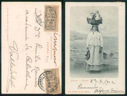 OF [ 19483 ] - ESPAÑA - LECHERA TENERIFE 1902 SELLOS CARIMBOS TIMBRE - Tenerife
