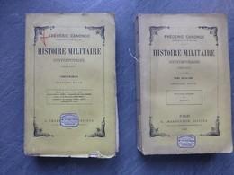 Histoire Militaire 1854-1871, F. Canonge, 2 Volumes, Charpentier 1882 ; L04 - Livres, BD, Revues