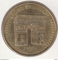 MONNAIE DE ¨PARIS 75008 PARIS Arc De Triomphe - Face Simple à Points - 2015 - Monnaie De Paris