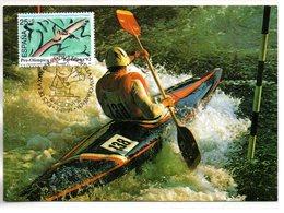 Sport : Canoé-Kayac :  Carte Maximum De Espagne - Kano