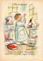 Germaine Bouret. Enfant Chimiste. Totormollet. 13x18cm. - Bouret, Germaine