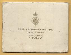 Livret De 8 Vues + 1 Plan De VICHY - LES AMBASSADEURS - Toeristische Brochures