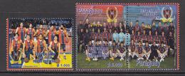 2012 Paraguay Porteno Sports Club Football Basketball  Complete Set Of 2 MNH - Paraguay