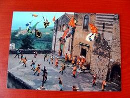 (FG.V38) SBANDIERATORI DEI RIONI DI CORI (LATINA) GRUPPO FOLKLORISTICO Animata, Folklore Costumi Locali - Latina