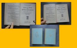 Sur La Piste Des Bêtes Ignorées (2 Volumes), B. Heuvelmans Reliés, Plon 1955 ; L04 - Boeken, Tijdschriften, Stripverhalen