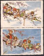 I2878  - ANONIMO  - BAMBINI COME FIORI - Cartes Humoristiques