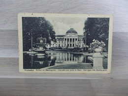 Wiesbaden - Kurhaus Mit Blumengarten - Wiesbaden