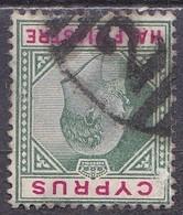CYPRUS British Cancellation 2.. On 1902-04 King Edward VII Vl. 45 - Cipro (...-1960)