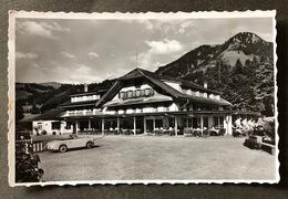 Schwarzsee Hotel Restaurant Gypsera/ Oldtimer Auto - FR Fribourg