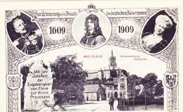 713/ Bad Cleve, Schwanenburg ( Ostseite) 1908 - Allemagne